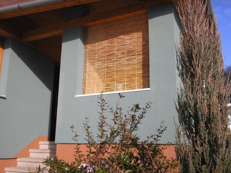 Rákosové okenní žaluzie